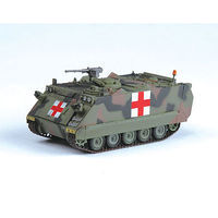 Easy-Models M113A2 Tank US Army (Red Cross) Pre-Built Plastic Model Tank 1/72 Scale #35007