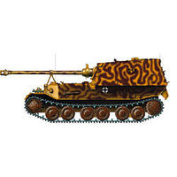Easy-Models Ferdinand Tank Kursk 43 Pre Built Plastic Model Tank 1/72 Scale #36225
