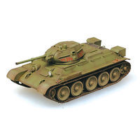 Easy-Models T-34/76 MOSCOW FIELD Pre-Built Plastic Model Tank 1/72 Scale #36264