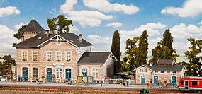Faller Volgelsheim Station Kit HO Scale Model Railroad Building #110121