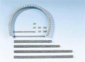 Faller Tunnel Facing Strips HO Scale Model Railroad Tunnel #120550