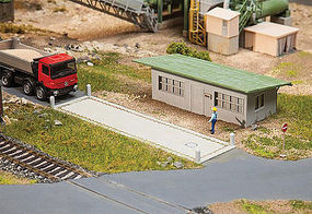 Faller Truck Scale with Office HO Scale Model Railroad Building #130172