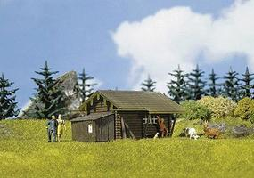 Faller Forest Log Cabin HO Scale Model Railroad Building #130293