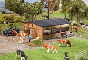 Faller Livestock Shelter HO Scale Model Railroad Building #130547