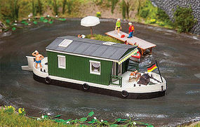 Faller House Boat Kit HO Scale Model Railroad Vehicle/Building #161460