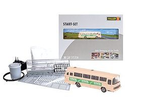 Faller Car System Starter Kit Mercedes O 302 Postal Bus HO Scale Railroad Model #161501
