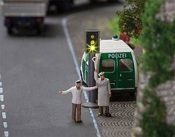 Faller 2 LED Traffic Lights - N-Scale