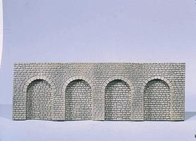 Faller Natural Stone w/Round Arch Arcades HO Scale Model Railroad Scenery #170838