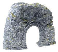 Faller Single Track Tunnel Portal w/Annexed Rock Wall HO Scale Model Scenery #171820