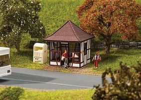 Faller Upper Franconian Half-Timber Bus Shelter HO Scale Model Railroad Building #180370