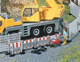 Faller Construction Barricade High Fence/Low Fence HO Scale Model Railroad Accessory #180435