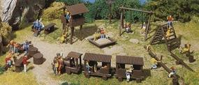 Faller Adventure Playground Kit HO Scale Model Railroad Building Accessory #180577
