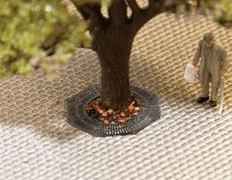 Faller Tree Water Protection Grid Kit pkg(3) HO Scale Model Accessory #180611