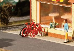 Faller Bicycles Kit (8 Pack) HO Scale Model Railroad Building Accessory #180901