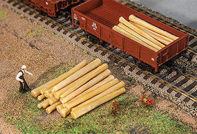 Faller Logs (20) HO Scale Model Train Freight Car Load #180925