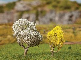 Faller Blackthorn & Forsythia Tree (Premium) 5cm & 4cm Model Railroad Tree #181189