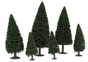 Faller Pine/Coniferous Forest Trees (20) Model Railroad Tree #181481