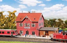 Faller Train Station Klingenberg N Scale Model Railroad Building #212116