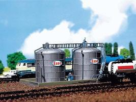 Faller Oil Storage Tanks N Scale Model Railroad Building #222131