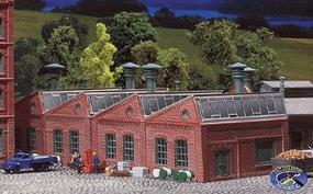 Faller Factory Halls (2 Pack) N Scale Model Railroad Building #222203