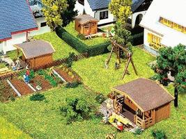 Faller Set of 3 Summer Houses Kit N Scale Model Railroad Building #232209
