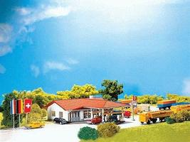 Faller Service Station N Scale Model Railroad Building #232217