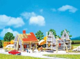 Faller Homes Under Construction N Scale Model Railroad Building #232223