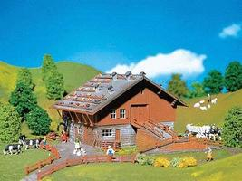 Faller Alpine Barn N Scale Model Railroad Building #232233
