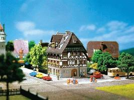Faller Franken Half-Timbered House N Scale Model Railroad Building #232280