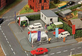 Faller Second-Hand Car Dealer - N-Scale