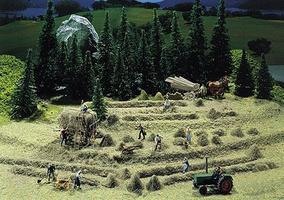 Faller Hay Harvest (Era IV) N Scale Model Railroad Accessory #272561