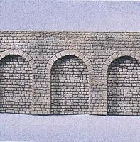 Faller Natural Stone w/Round Arch Arcades N Scale Model Railroad Scenery #272600