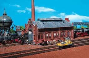 Faller Engine Repair Shed Z Scale Model Railroad Building #282733
