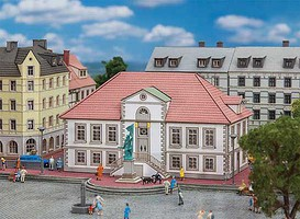 Faller z scale model railroad buildings for Mobel quakenbruck