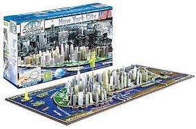 4D-Cityscape New York Skyline 700pcs 3D Jigsaw Puzzle #40010