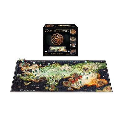 4D Cityscape Puzzles 4D Game of Thrones Esso 1400+pcs -- 4D Jigsaw Puzzle -- #51002