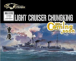 Fly-Hawk 1/700 Chinese Navy Chung King Light Cruiser (Full Hull) (D)