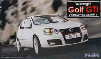 Fujimi Volkswagen Golf GTI V 2 Door Sports Car    Plastic Model Car Kit