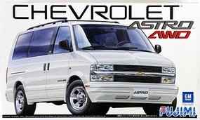Fujimi RS87 Chevrolet Astro LT AWD Van Plastic Model Vehicle Kit 1/24 Scale #12394