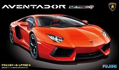 Attractive Fujimi Lamborghini Aventador Sports Car    Plastic Model Car Kit    1/24