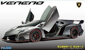 Fujimi Lamborghini Veneno Sports Car Plastic Model Car Kit 1/24 Scale #12597