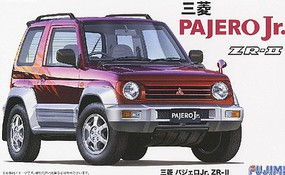 Fujimi Mitsubishi Pajero Jr ZR II Car Plastic Model SUV Kit 1/24 Scale #3910