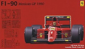 Fujimi 1990 Ferrari F1-90 Mexican Grand Prix Race Car Plastic Model Car Kit 1/20 Scale #9043