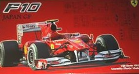 Fujimi Ferrari F10 2010 Japan Grand Prix Race Car Plastic Model Car Kit 1/20 Scale #9087