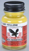 Floquil (bulk of 6) 1oz. Bottle Polly Scale Acrylic SCL Hopper Car Yellow  (D)