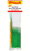 Flex-I-File Nano Brushes Green Short Tip