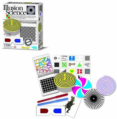 4M Project Kits Illusion Science Kit -- Educational Science Kit -- #3473