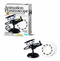 4M-Projects Animation Praxinoscope Kit Science Engineering Kit #3474