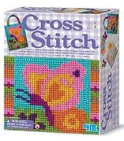 4M-Projects Cross Stitch Kit Fabric Craft and Activity #3592