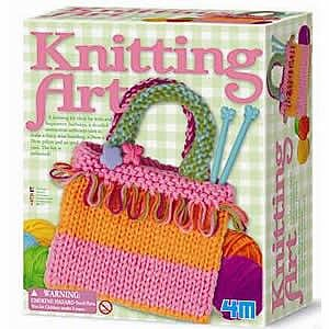 4M Project Kits Knitting Kit -- Fabric Craft and Activity -- #3593